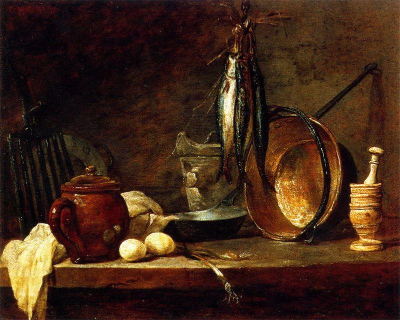 Repas Maigre, Jean-Baptiste Siméon Chardin. 1731