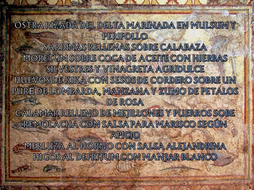 Mosaico de Los peces, Tarragona