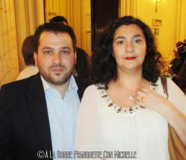 Con Ricardo Vélez de Moulin Chocolat