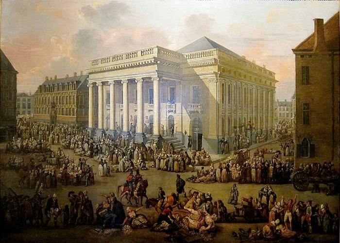 """La Braderie de Lille"" by François Watteau"