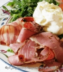 ensalada-pastrami-rucula-corazon-de-buey-tomate-burrata-aove-sal-maldon-a-la-bonne-franquette-con-michelle-2