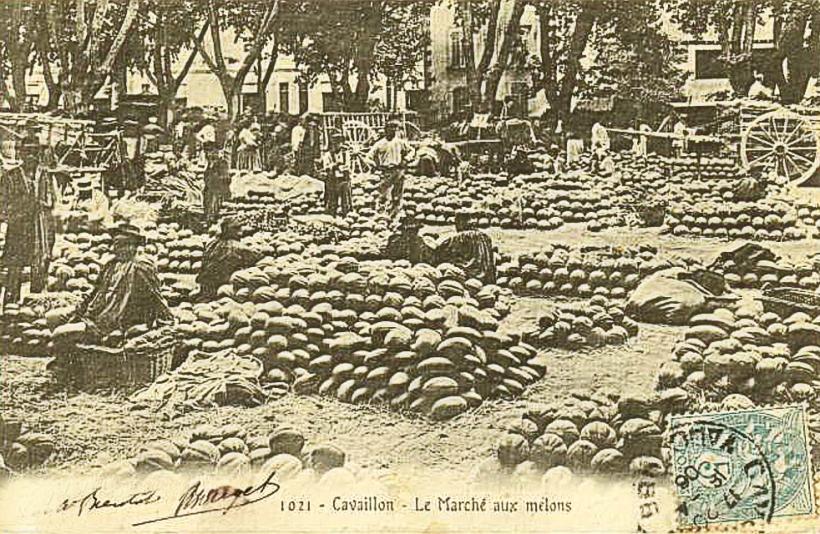 Mercado de Melones de Carvaillon, Francia